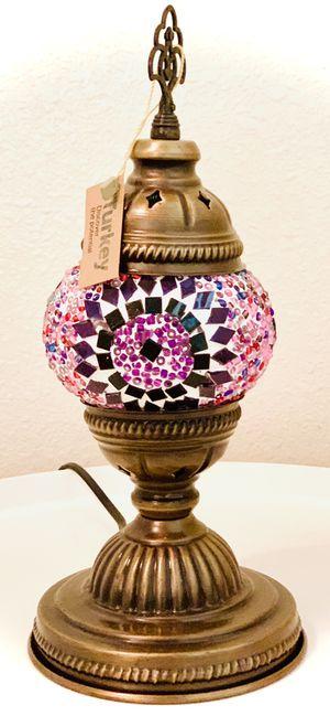 Moroccan multicolored lamp for Sale in Fresno, CA
