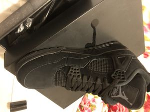 Nike Air Jordan Retro 4 Black Cat 4s Size 11 for Sale in East Los Angeles, CA