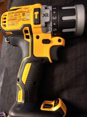 DeWalt xr hammer drill fcd796 for Sale in Brockton, MA