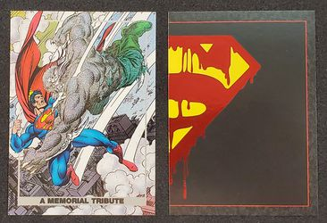 Superman 1992 DC Comics Special Insert Cards for Sale in Lakewood,  WA