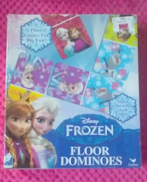 Frozen puzzle and game for Sale in Arlington, TX