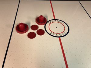 Air Hockey Table approx 42 x 84. Works. Lots of fun. for Sale in Leonia, NJ