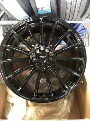"BRAND NEW 18"" BLACK RIMS for Sale in Visalia, CA"