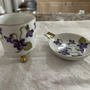 Leftoris Fine China, Trinket Box With Tray for Sale in Denton, TX