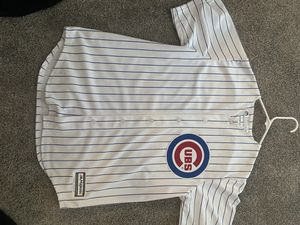 Cubs jersey size large $80 cash only obo no trades for Sale in Tacoma, WA