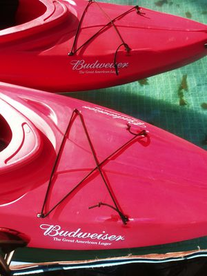 *Limited Edition* Budweiser Kayaks pair for Sale in Lexington, SC