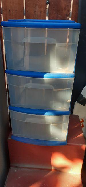 3 drawer plastic organizer for Sale in Santa Ana, CA