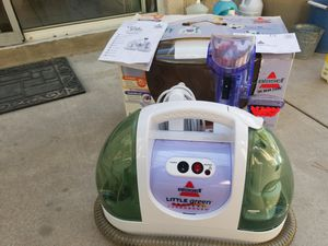 BISSELL Little Green proheat turborus cleaner for Sale in Rancho Cucamonga, CA