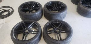SELLING A BEAUTIFUL SET OF 21X9 22X12 Ferrari 488 or 458 for Sale in Lauderdale Lakes, FL