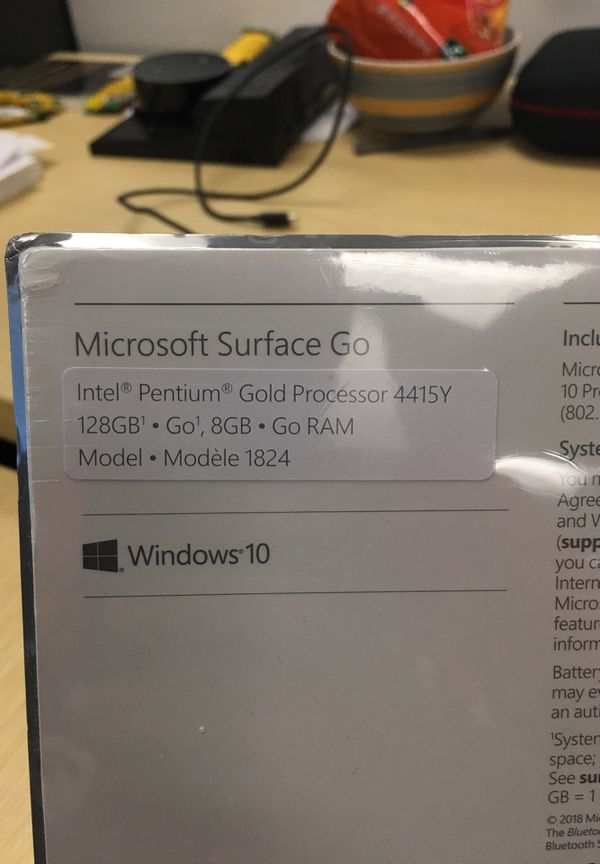 Brand new still unpacked Microsoft Surface Go