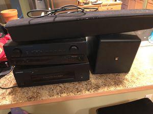 Receiver amplifier sound bar for Sale in Marysville, WA