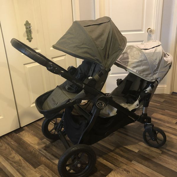 City Select Double Stroller and Car Seat, Baby