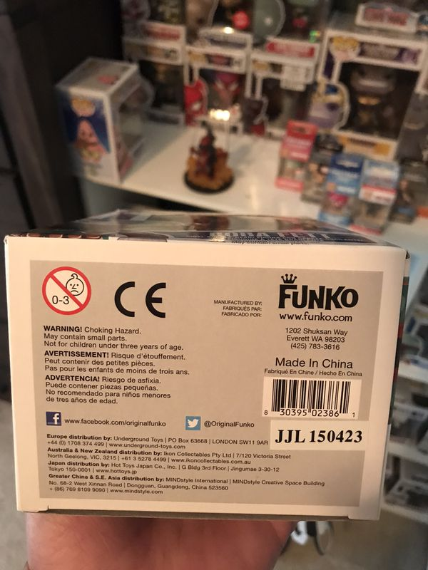 "Boba Fett Funko Pop #8. BLUE BOX NOT RED ""NEW"""