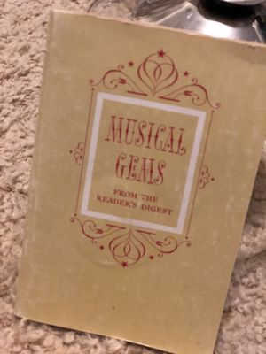 MUSICAL GEMS Reader's Digest Paperback 1961 with Illustrations & Photos for Sale in Arvada, CO