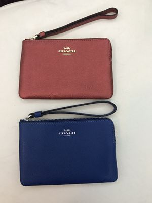 Authentic Coach Wristlets for Sale in Naperville, IL
