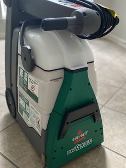 Bissell Big Green Carpet Cleaner For House, Stairs, Cars Etc. for Sale in Humble,  TX