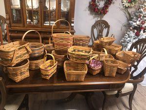 Longaberger baskets for Sale in Union Grove, AL