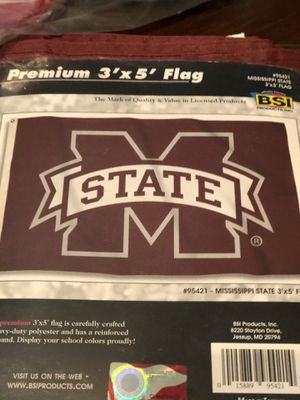 Mississippi state college flag for Sale in North Lauderdale, FL