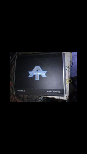 Autotek amp 2000 watts very good condition like new for Sale in Ontario, CA