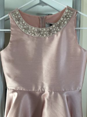 Blush flower girl dress and shoes for Sale in Garland, TX