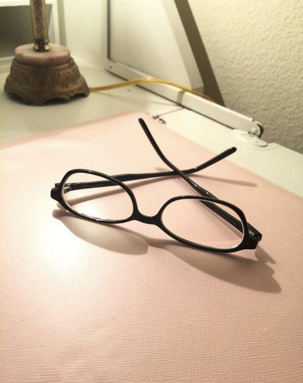 Black Framed Eye Glasses