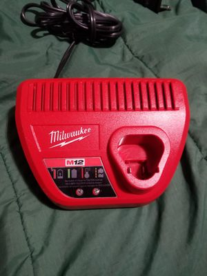 Milwaukee m12 battery charger for Sale in Selma, CA