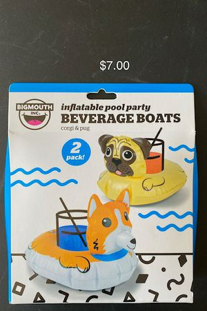Adult/Kids/child/children's swimming pool beverage boat floats for Sale in Oak Forest, IL