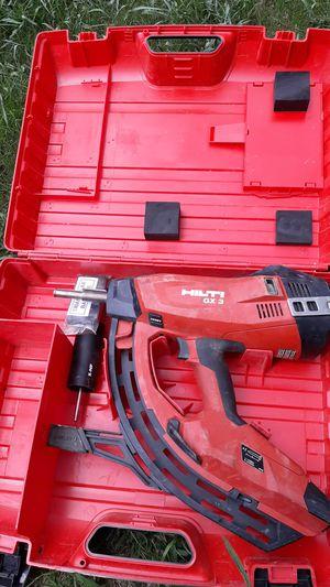 Hilti GX 3 fastening tool nail gun for Sale in Oklahoma City, OK