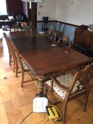 Antique Dinning Room Table for Sale in Portland, OR