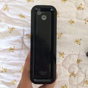 Motorola SURFboard router/modem for Sale in Palisades Park, NJ