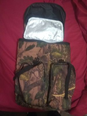 Thermal protected camo back pack Hunting/Fishing. for Sale in Salt Lake City, UT