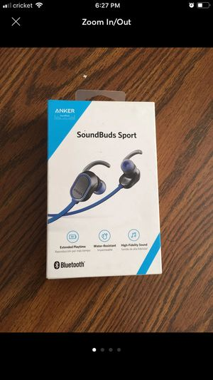 Anker soundbuds sport Bluetooth headset like new for Sale in Pittsburgh, PA