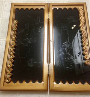 Chess set and backgammon. for Sale in Leesburg, VA