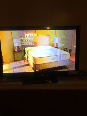 Panasonic 42 Inch TV for sale With the remote for Sale in St. Louis, MO