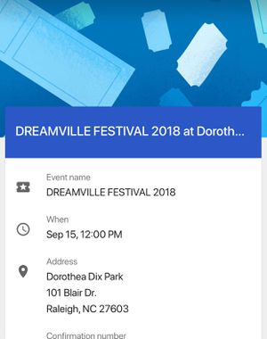 2 tickets for dreamville festival for Sale in Cary, NC