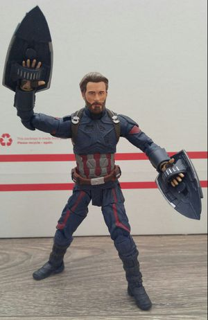 Marvel Select Avengers Infinity War Captain America for Sale in Fremont, CA