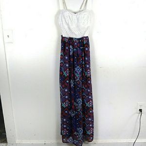 Tribal maxi dress lily rose XS for Sale in Roanoke, VA