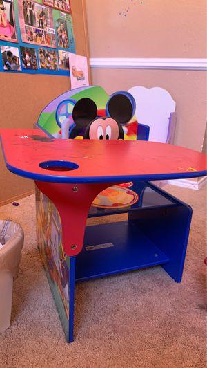 Mickey Mouse desk - kids desk for Sale in Farmers Branch, TX