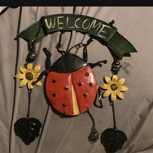 Ladybug Garden Sign for Sale in Decatur, MS