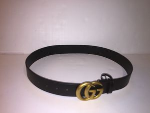 Gucci Leather Classic Double G Buckle Belt for Sale in Queens, NY