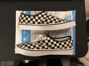 Checkered Vans (Golden Coast Authentic) Mens Sz 9.5 for Sale in Chicago, IL