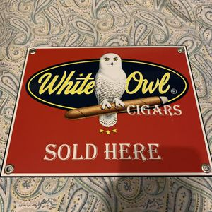 NEW White Owl Cigar Wrap Sign (Stoner) for Sale in San Antonio, TX