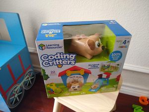 Learning resources coding critters Ranger and Zip 4+ new for Sale in Keller, TX