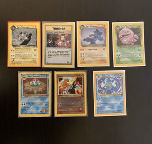 Holo old school Pokemon cards for Sale in Los Angeles, CA