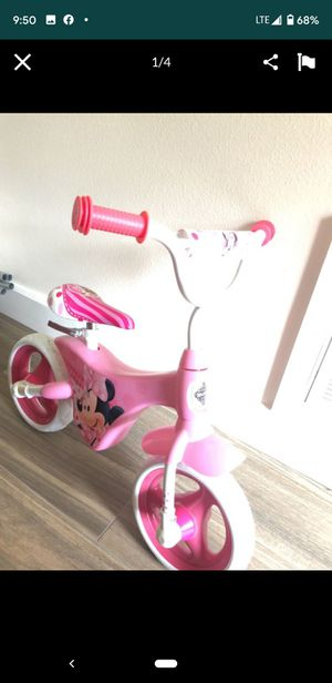 Girls huffy Minnie mouse balance bike for Sale in Piedmont, SC