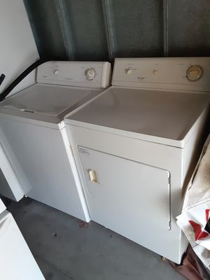 Washer and dryer set in good condition delivery for Sale in Long Beach, CA