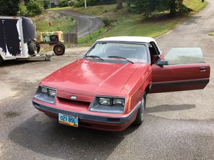 1985 Mustang 5.0 HO Convertible for Sale in Duvall, WA