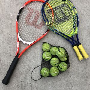 Tennis Rackets And Balls for Sale in Monterey Park, CA