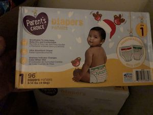 Size one kids diapers for Sale in Vancouver, WA