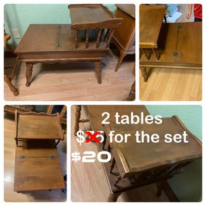 End tables - set of 2 for Sale in Tampa, FL
